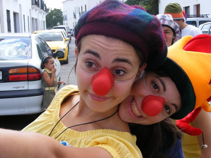 Ana y Conce. Taller de Clown 2007