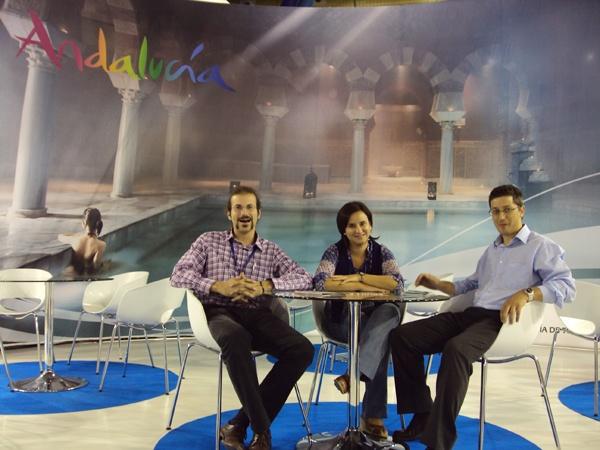 Daniel Bargalló, Begoña y Juanjo Manzano