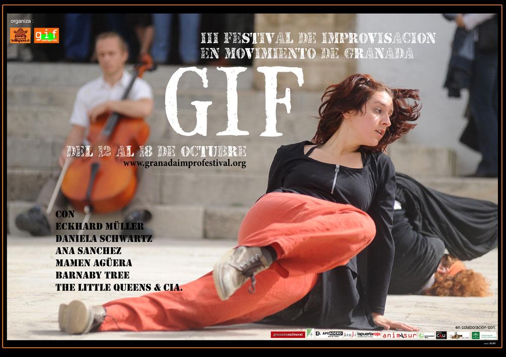 cartel Festival Internacional de Improvisación de Granada