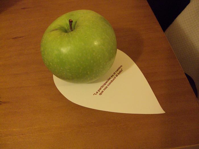 Fruta participativa