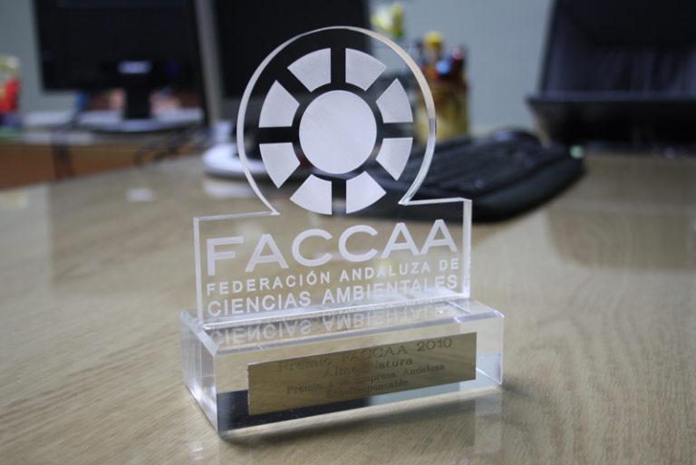 Alma Natura, premio empresa Eco-Responsable 2010