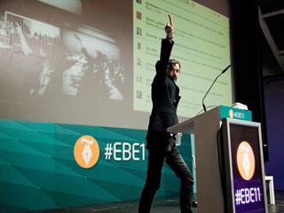 Pablo Arrieta en Clausura EBE11