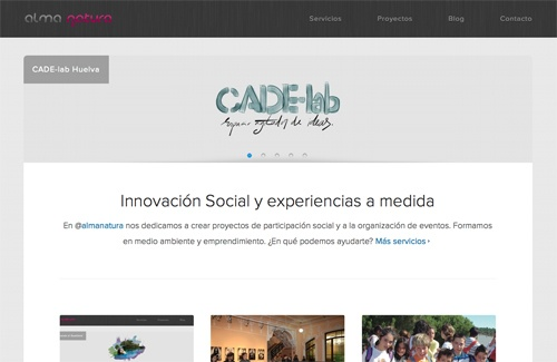 Nueva web de Alma Natura y simplificación de servicios