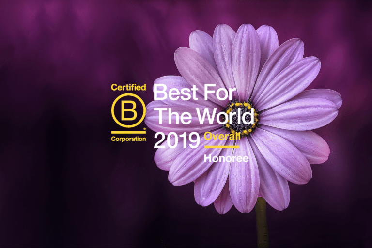 "AlmaNatura ha sido reconocida en la lista ""Best For The World"" 2019"