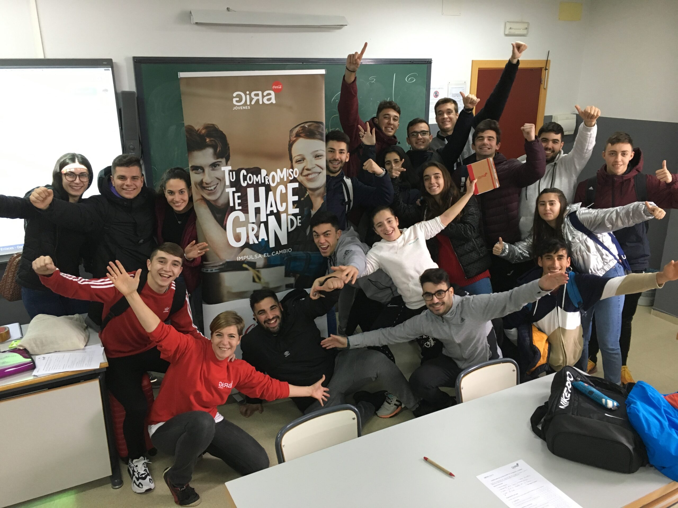 Grupo de GIRA Jóvenes